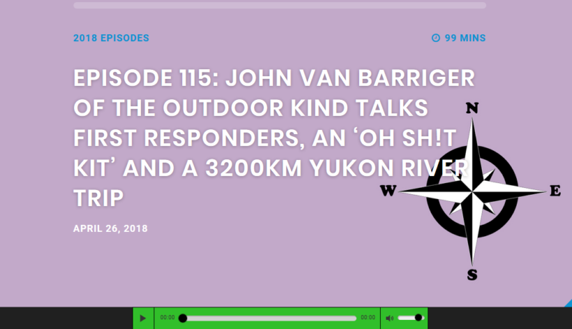 Yukon Journey on Paddling Adventures Radio!